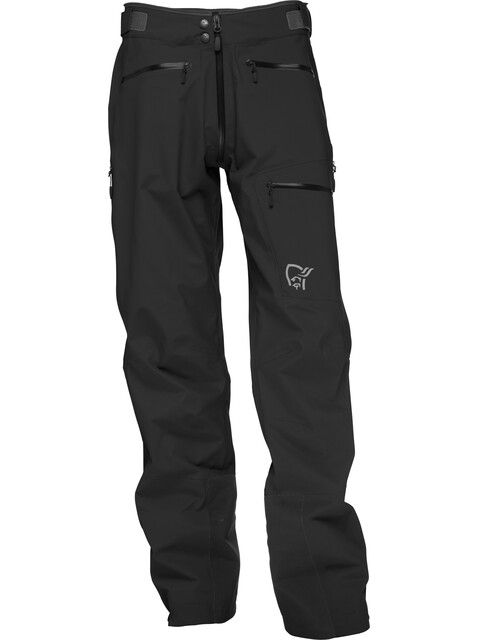 Norrøna Trollveggen Gore-Tex Light Pro - Pantalones de Trekking Hombre - negro